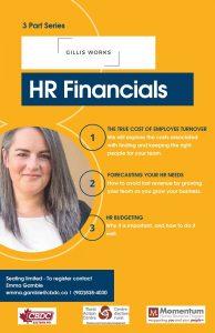 HR Financials with Sharon Gillis @ Montague Rural Action Centre
